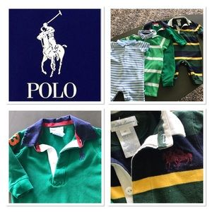 .😍4 RALPH LAUREN POLO RUMPERS!!!